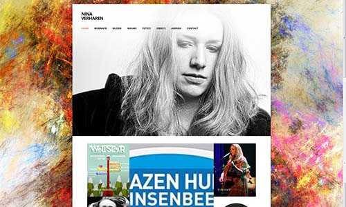 Nina Verharen is een singer-songwriter